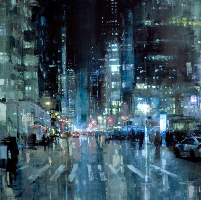 HAVE A NICE DAY: Beautiful Cityscape Oil Paintings By