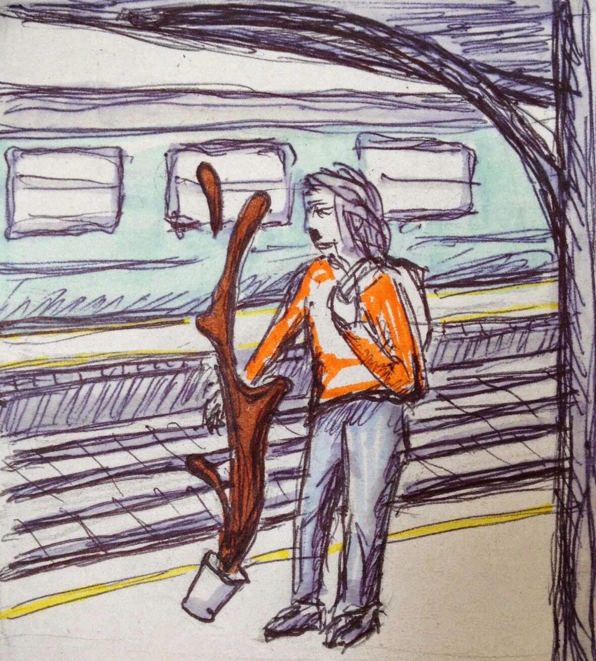 Wiersz Rysunek Sierpnia 2014