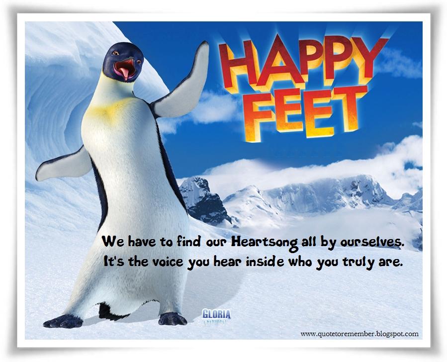 happy feet quotes