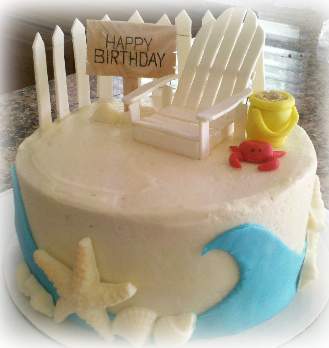 Beach Birthday Cake The Best Beaches In The World