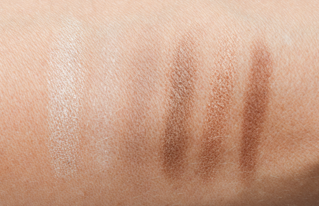 catrice swatch chocolate nude palette