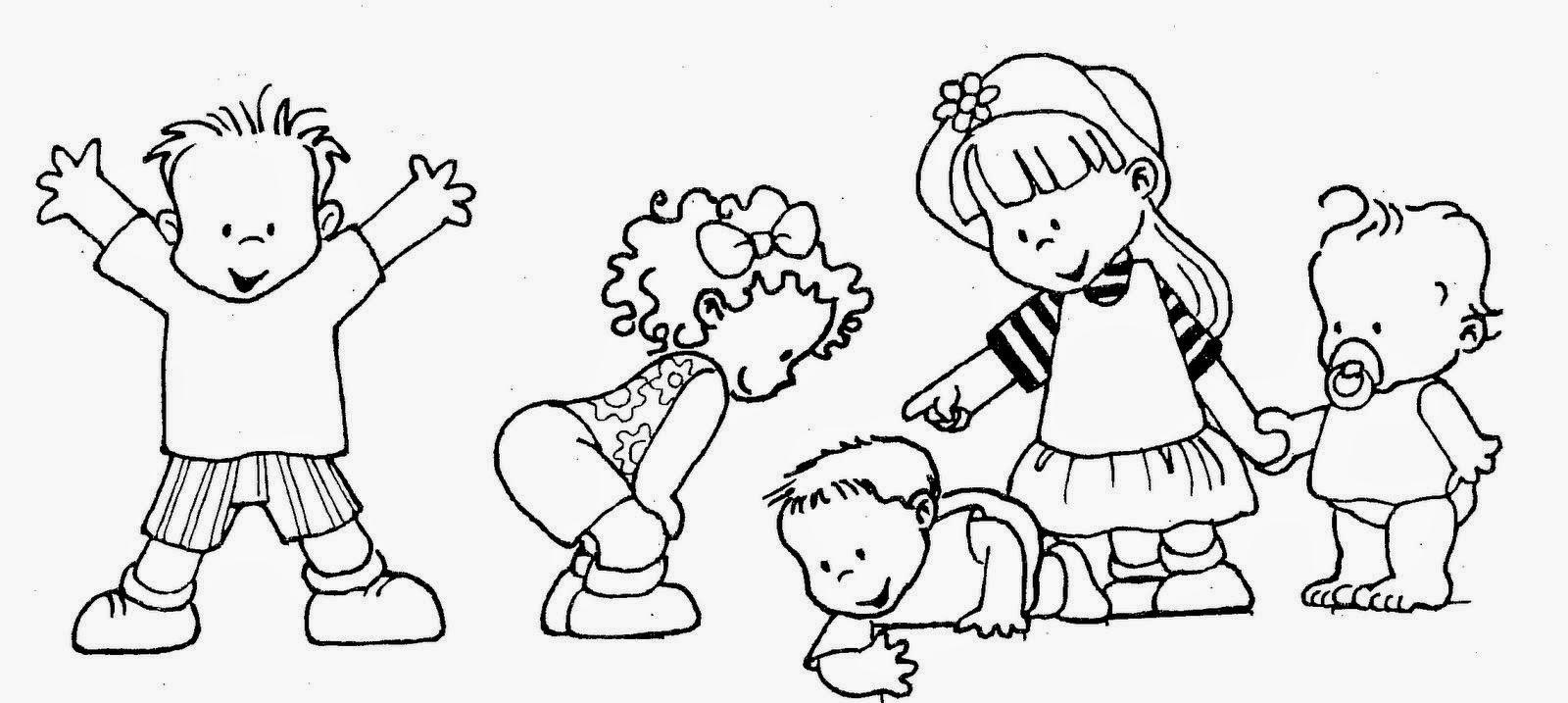 Dibujos Para Colorear Maestra De Infantil Y Primaria