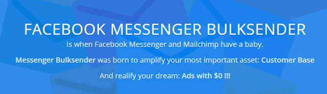 Facebook messenger bulksender breakthrough Sales for Business