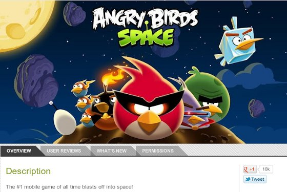 angrybirds space google play