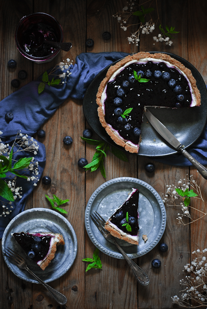 no-bake-blueberry-cheesecake-tarta-de-queso-con-arandanos-dulces-bocados