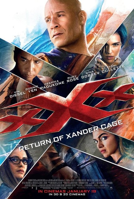 Download Film xXx: Return of Xander Cage (2017)