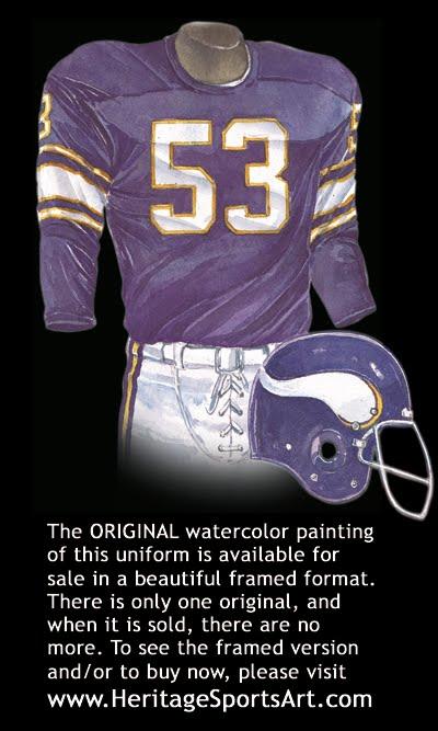 low priced c5e03 2e6d6 Minnesota Vikings Uniform and Team History | Heritage ...