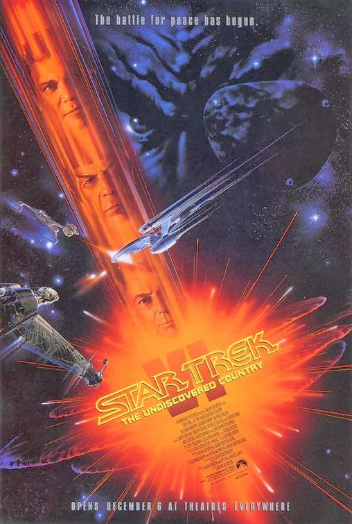 Star Trek VI: The Undiscovered Country Movie Poster