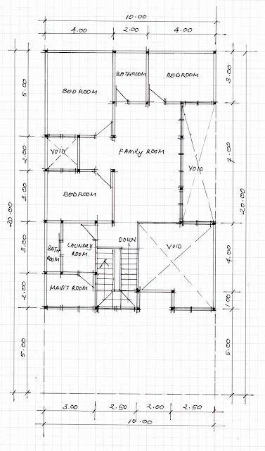 2nd floor plan of home image 03