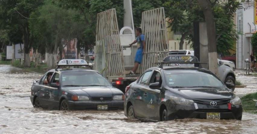 TRUJILLO: Nuevo huaico llega al centro de de la ciudad e inunda cientos de casas