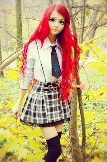 boneca humana: Anastasiya Shpagina,