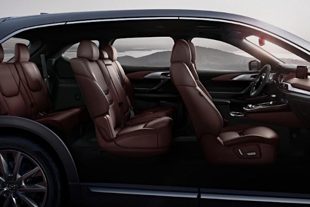 2018 Mazda CX-9 Concept Interior