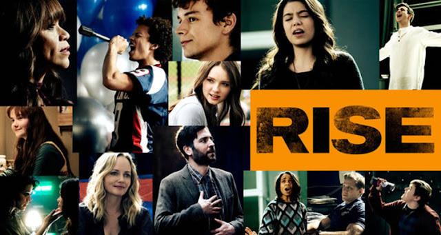 'Rise', mejor ser rebelde cantando. Serie Movistar +