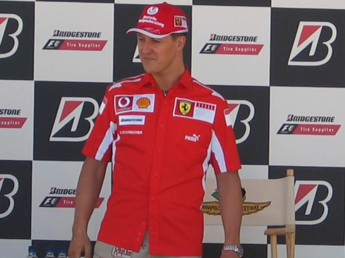 Michael Schumacher's Son Mick to Take f1 Test For Ferrari