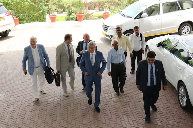 Russian Guests Welcomed by Prof. (Dr.) Balvir S. Tomar