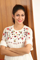Lavanya Tripathi in Summer Style Spicy Short White Dress at her Interview  Exclusive 231.JPG
