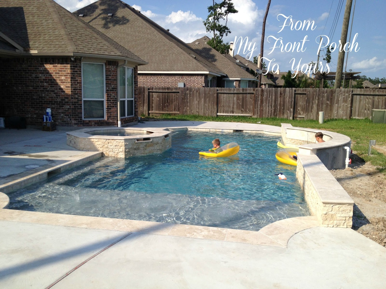 From My Front Porch To Yours: Backyard Oasis part 5 ... on Backyard Oasis Ideas id=37384