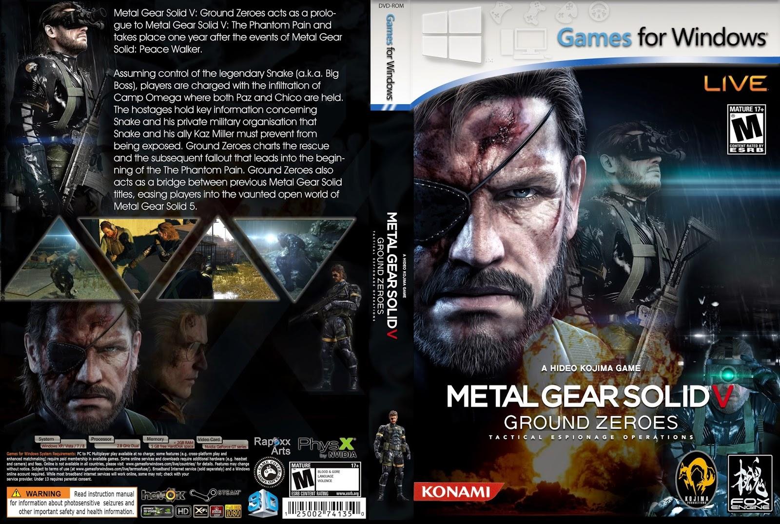 تحميل لعبة metal gear solid 1 للكمبيوتر