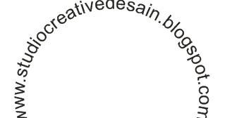 ... efek teks huruf melingkar menggunakan corel draw   studio desain