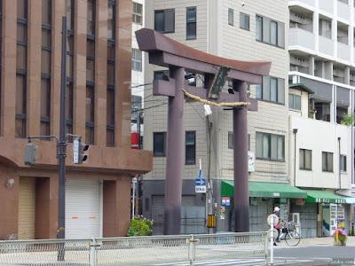 大阪天満宮の鳥居