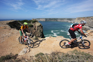 Mountain biking at Martinhal Sagres Beach Resort, Portugal