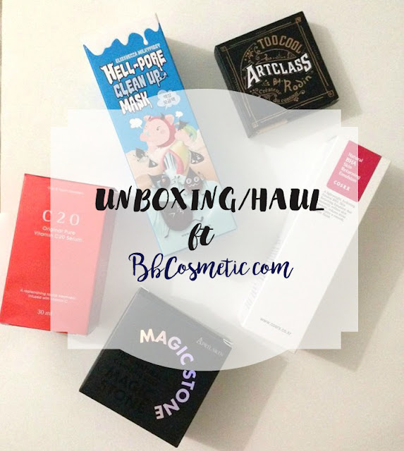 bbcosmetic haul