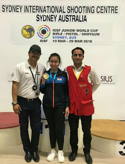Junior Shooting World Cup में उत्तराखंड की देवांशी राणा