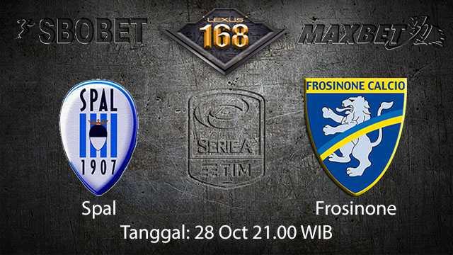 Prediksi Bola Jitu Spal vs Frosinone 28 October 2018 ( Italian Serie A )