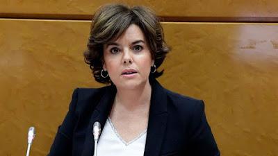 Designan vice presidenta de España a tomar control de Cataluña