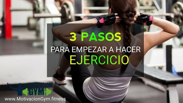 Empezar a hacer ejercicio