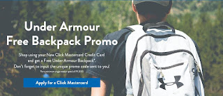 Security Bank Free Under Armour Backpack Promo, Security bank promo