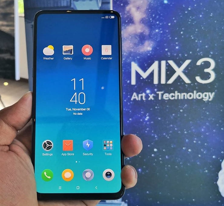 Xiaomi Mi MIX 3 Coming to PH Before 2018 Ends