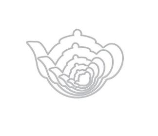 Hero Arts Nesting Tea Pot Infinity Dies