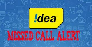 1 month idea miss call alert