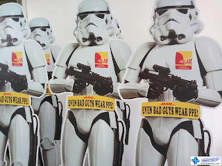 Sintra Board Standees - DHL Philippines
