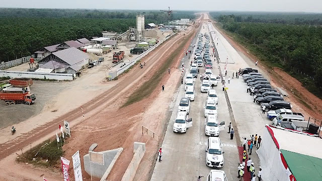 Tersambung Tol, Kayuagung  ke Lampung Hanya 3 Jam