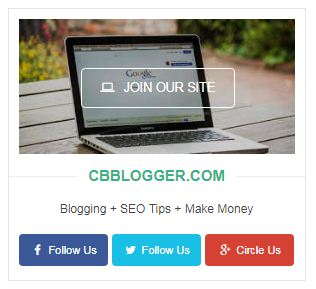 Cara Memasang Author Box Social Widget di Sidebar Blogger