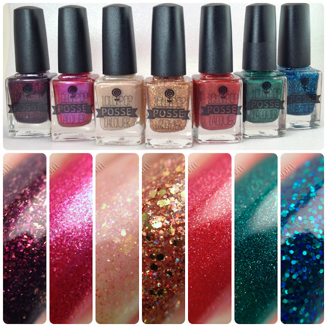 Lollipop Posse Lacquer-Deck Your Halls