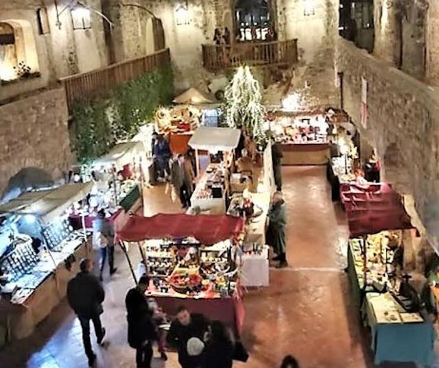 Mercatino di Natale nel castello di Limatola Benevento