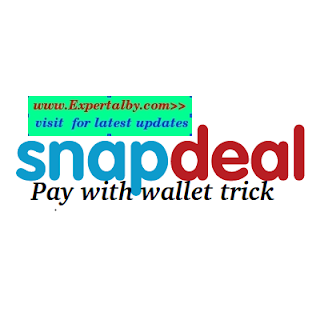 Snapdeal trick to use wallet payment