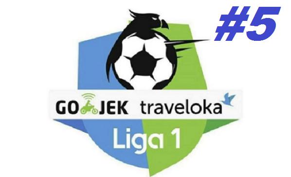 Jadwal Siaran Langsung Gojek Traveloka Liga 1 2017 Pekan Kelima