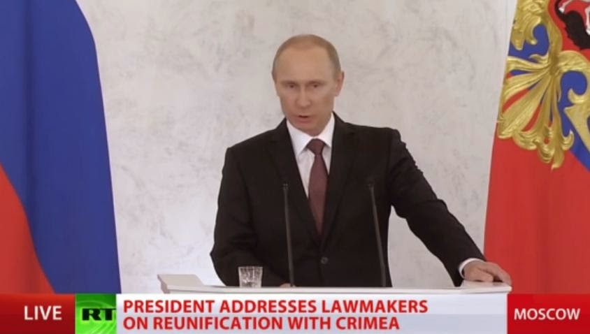 Putin Un Rede