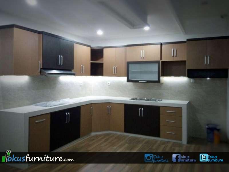 Kitchen set minimalis lemari pakaian jakarta harga murah for Pemasangan kitchen set