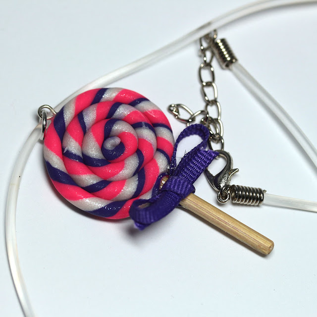 Kraken Kraftwerks Lollipop Necklace Charm