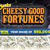 Cheetos Cash Instant Win Giveaway!  - 127 Winners. Win $100, $250, $500, $1,000, $2,500 or $5,000 Daily Entry, Ends 11/4/18