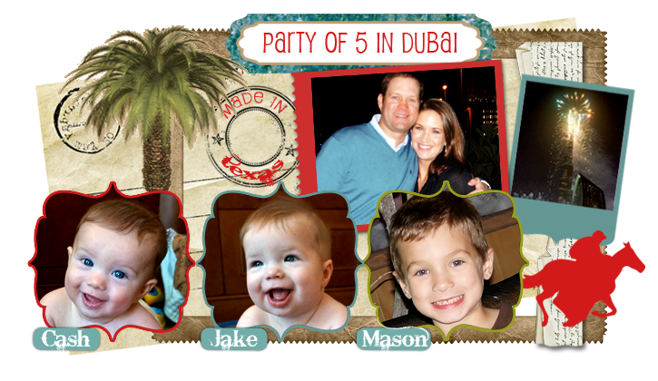 Party Of Five in Dubai