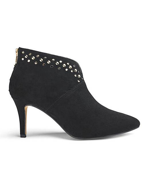 jd williams stud detail ankle boots