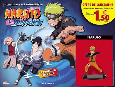 Nouvelle collection de figurines Naruto Shippuden avec Altaya - offre de lancement à 1.99 euros
