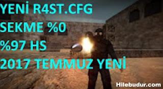 Counter Strike 1.6 R4ST Klan %97 HS - %0 Sekme CFG 24.07.2017