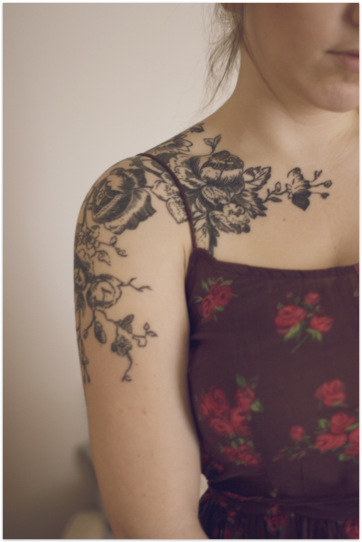 Tattoo Stencils For Women: 29 Awesome Shoulder Tattoo Designs For Women